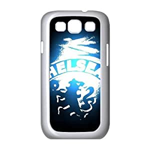 Yearinspace Chelsea Fc Samsung Galaxy S3 Case Chelsea Fc Blue Black For Women, Samsung Galaxy S3 Case Case, {White}