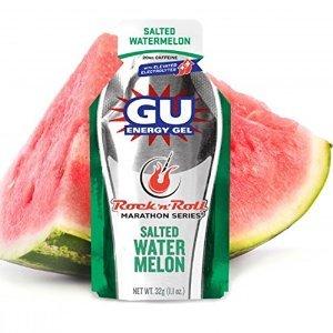 GU Sports Energy Gel - Case of 8 Boxes of 24 Packs (Salted Watermelon)