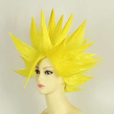 Pelucas de Cosplay - Dragon Ball - de Vegeta - Amarillo - 35 -: Amazon.es: Deportes y aire libre