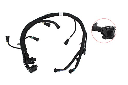 NewYall Engine Fuel Injector Module Wiring Harness Pigtail Connector for F250 F350 F450 F550 6.0L Powerstroke Diesel