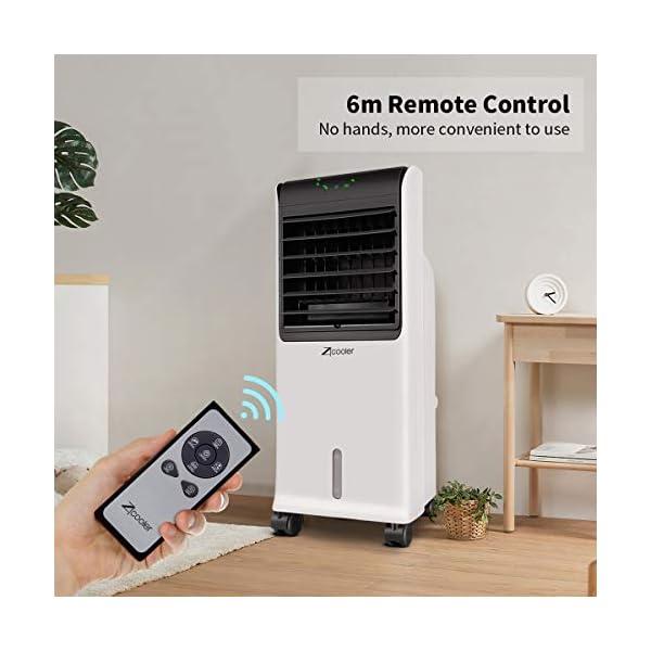 IcyAir Condizionatore Portatile, Raffreddatore d'Aria con Funzione di Purificazione dell'Aria, Ventilatore di… 4 spesavip