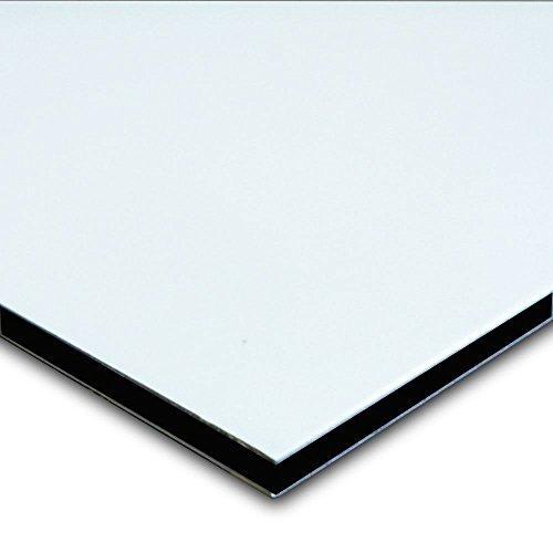 Aluminum Composite Sign Panel Sheet 1 8  X 24  X 48    White