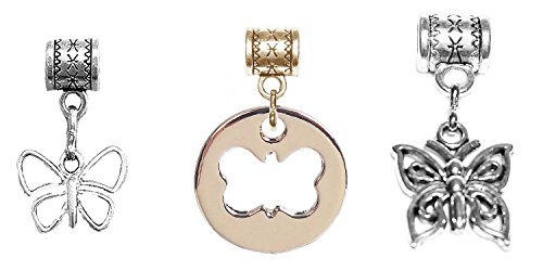 Antique Butterfly Bracelet -