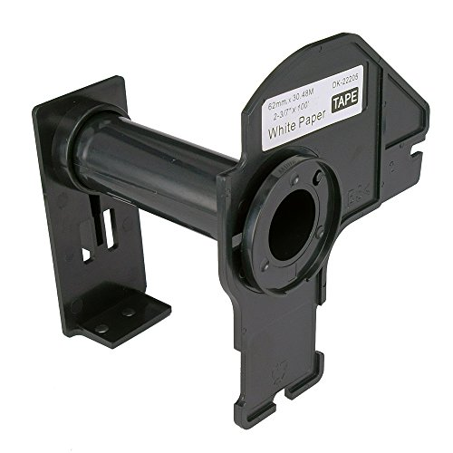 Molshine Label Holders Reusable Cartridge Compatible For Brother (DK-2205)