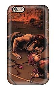 DanRobertse Fashion Protective Naruto Anime Fire Sad Sorrow Love Case Cover For Iphone 6
