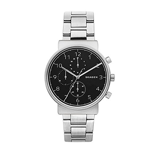 Skagen Men's  SKW6360 Ancher Silver Link Chronograph Watch