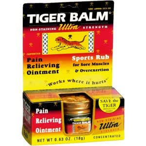 Special Pack of 5 TIGER BALM ULTRA STRENGTH 0.63 oz