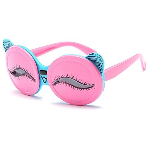 Kids Flip Up Sillicon Cartoon Cute Polarized Girls Boys Sunglasses