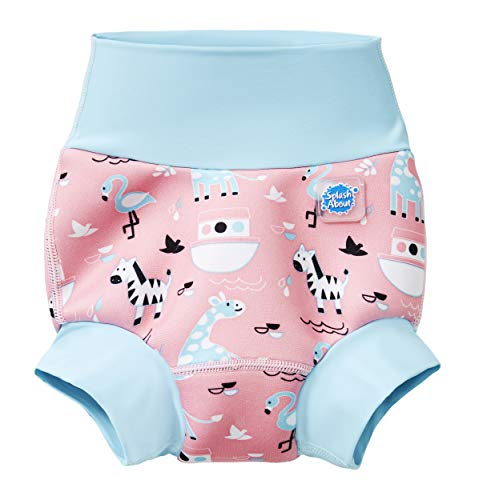 - Splash About New and Improved Happy Nappy Swim Diapers (Nina's Ark, 12-24 Months)