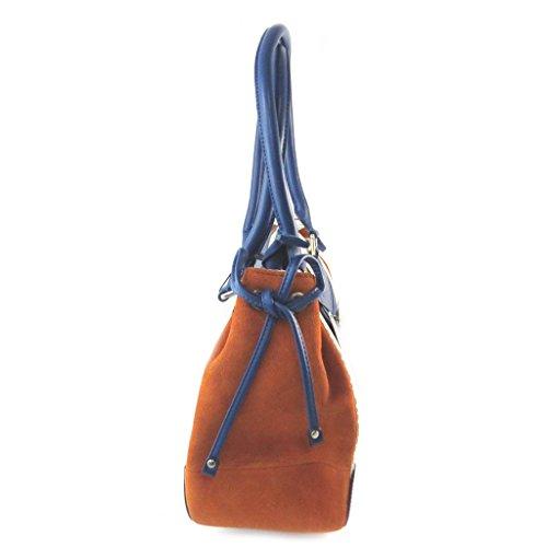 Bag Ted Lapidusbianco blu arancio - 36x23.5x13 cm.