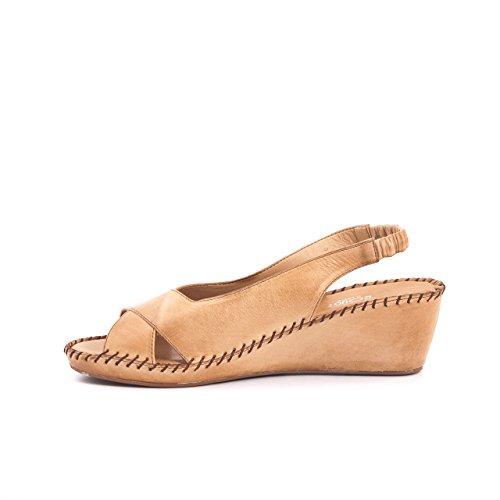 Rouge - Zapatos con correa de tobillo Mujer Arena