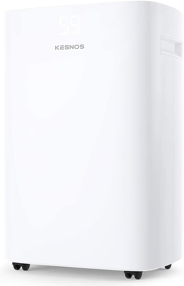 Kesnos 40 Pint Dehumidifier for Home and Basements Removes Moisture in Space up to 2000 Sq. Ft.
