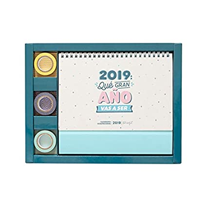Mr. Wonderful - Calendario scrapbooking 2019: Amazon.es: Oficina y ...