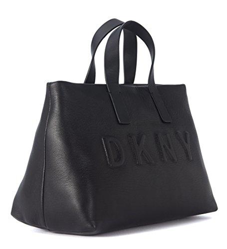 Sac à main DKNY en peau noire