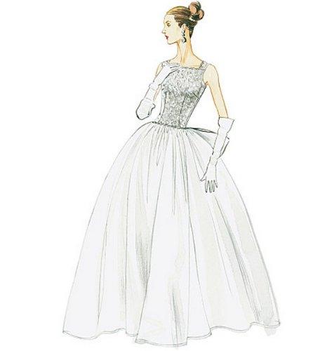 Amazon.com: Vogue Vintage Model Pattern V8729 Misses Original 1956 ...