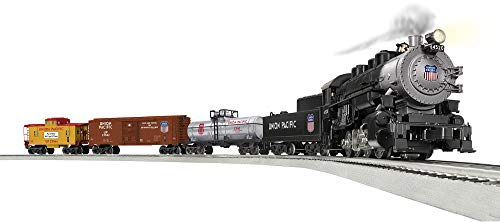 Lionel Trains - Union Pacific Flyer LionChief Set with Bluetooth, O - Set 0 Steam Freight