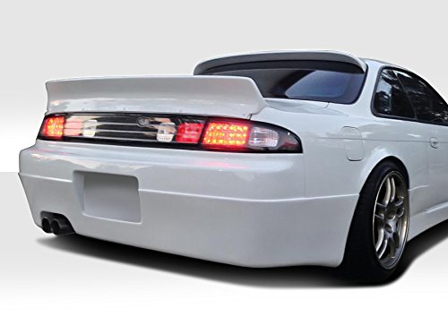 Nissan 240sx Spoiler Wing (1995-1998 Nissan 240SX 2DR S14 Duraflex RBS Wing Trunk Lid Spoiler - 1 Piece)