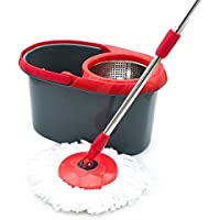 ASTICOPR Asti Dual Spinning Spin Mop Cleaning System, Grey