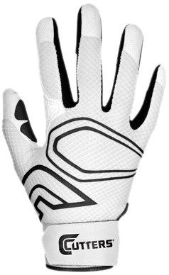 カッターグローブYouth lead-off野球バッティンググローブ B00G6JAT5A Medium|ホワイト/ブラック ホワイト/ブラック Medium