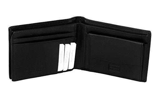 31a92846a6 Portafoglio BIAGIOTTI UOMO nero in vera pelle con portamonete e patta  A4578: Amazon.it: Scarpe e borse