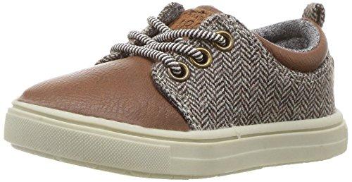 carter's Boys' Limerick Casual Sneaker, Brown, 8 M US Toddler (Brown Toddler Dress Shoes)