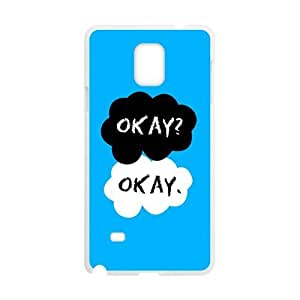 Cartoon warm dialogue Cell Phone Case for Samsung Galaxy Note4