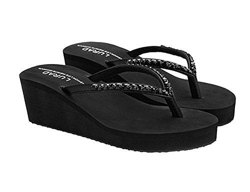 Nero Dayiss Donna Pantofole Donna Dayiss Pantofole qwXzx1YxF