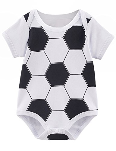 Mombebe Baby Boys' Funny Costume Bodysuit (6-12 Months, (Sports Costume Ideas For Boys)