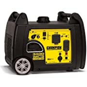 Inverter Generator Gasoline Powered 3,400-Watt Quiet, Lightweight and Portable with Parallel Capability, Perfect...
