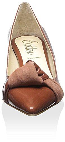 Pat Women's Cognac Suede Dustin Pump Butter dgvqWI010