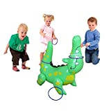 SaveStore Inflatable Alligator Ring Toss Game Set Children Adult Throwing Ring Sport Toys Party Supplies Blow Up Toys Environmental PVC