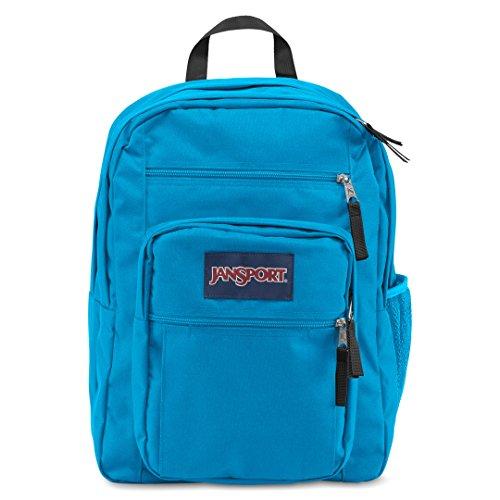 JanSport Mens Classic Mainstream Big Student Backpack - Blue Crest / 17.5