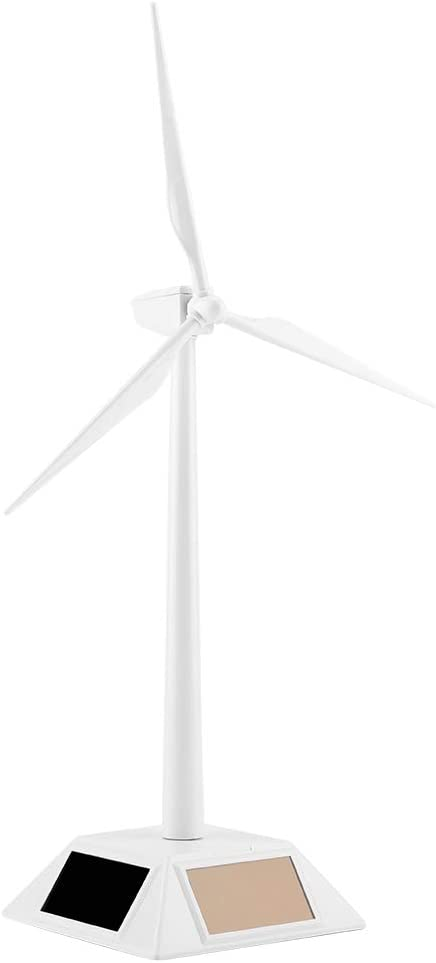 Wind Mill Toy Home Decor for Office Home Solar Powered Wind Mill Small Wind Turbine Solar Wind Mill Toy