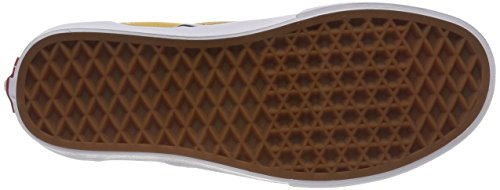 Vans Classic Baskets Mixte on Slip Jaune checkerboard Adulte rrqxdHw5v