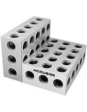 Accusize Industrial Tools Precision 1-2-3 Blocks 2Pcs/Set, EG02-0411