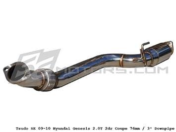 tsudo 09 - 14 Genesis 2.0T Coupe 3 en prueba de tubería tubo: Amazon.es: Coche y moto