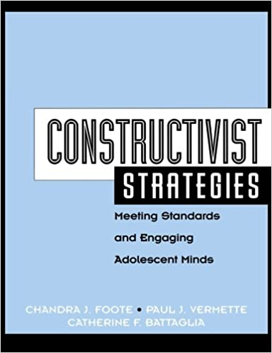 Constructivist Strategies Meeting Standards Engaging Adolescent