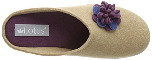 Montants Chaussons Lotus oat Beige Rosella Femme w4fqCPxaq