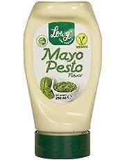 Mayonesa Vegana Sabor Pesto REAL - SIN huevo - 100% VEGANO - Certificado low FODMAP -
