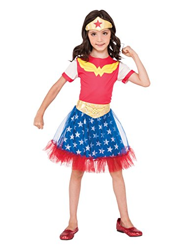 Rubie's DC Super Hero Girls Wonder Woman Child -