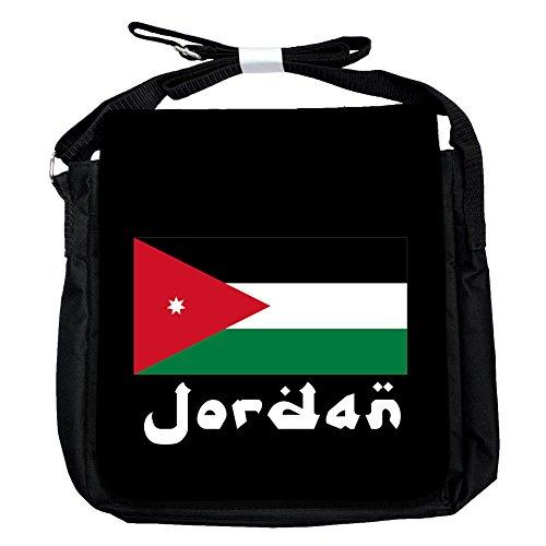 Jordan -Flagge - Unisex-Umhängetasche