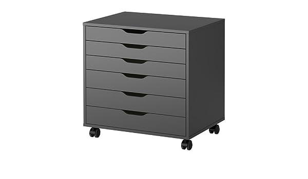 Ikea Alex - Unidad de cajón con Ruedas - 67x66 cm: Amazon.es ...