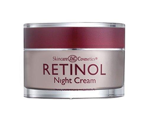 Skincare LdeL Cosmetics Retinol Night Cream, 1.7-Ounce Jar