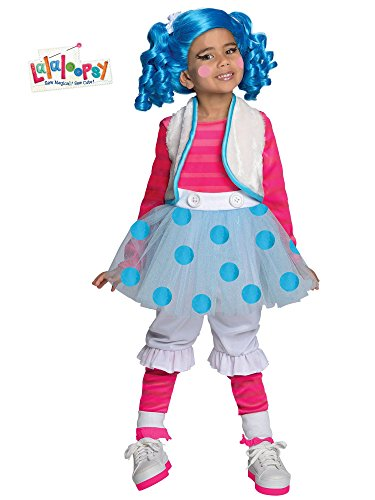 Lalaloopsy Child's Deluxe Mittens Fluff and Stuff Costume - One Color - Toddler ()