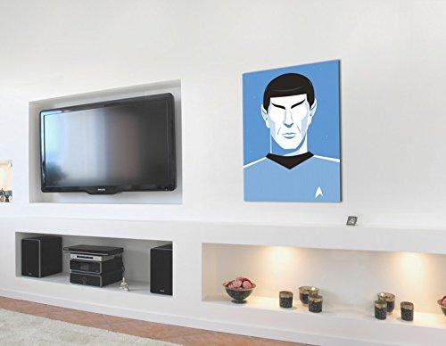 Trek Spock Star Pop Art Aniversario CuadroLienzo Montado Mr 50 9IDHE2