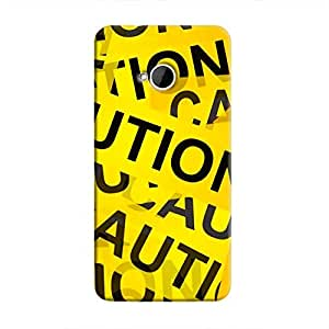 Cover It Up - Caution Tapes One M7Hard Case