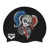 Arena Super Hero - Gorra de natación para jóvenes, Harley Quinn