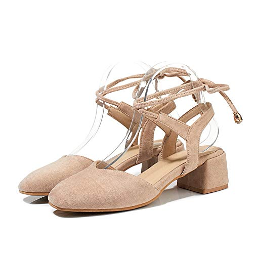 Sandales Compensées Femme SLC04352 AdeeSu Abricot wZ65RxAq