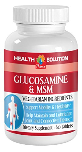 Msm pills - GLUCOSAMINE AND MSM - build healthy skin cells (1 bottle) by Health Solution Prime