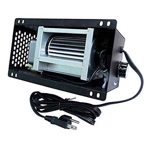 VICOOL Speed Variable S31105 Fireplace Blower 110V ~ 120V for GHP Group, Monessen/Majestic (MHSC Brands), Majestic Dutchwest Windsor, CFM US Century Plate Steel Freestanding Wood Stove Fireplace
